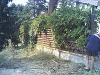 Секция двухсторонняя стандарт двухсторонняя 2м*1,5м,Евроштакетник Харьков