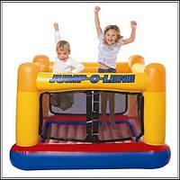 Надувной детский игровой центр - батут Intex 48260