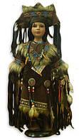 Кукла фарфоровая 24' Индианка