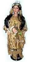Кукла фарфоровая Индианка 28''