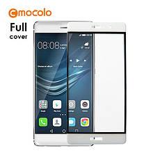 Защитное стекло Mocolo Full сover для Huawei Mate 9 белый