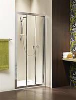 Radaway Душевая дверь в нишу Treviso DW 100, пофиль хром, стекло коричневое