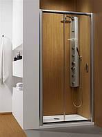 Radaway Душевая дверь в нишу Premium Plus DWJ 150, пофиль хром, стекло прозрачное.