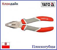 Плоскогубцы YATO 180 мм