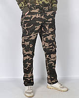 Камуфляжные мужские штаны в стиле милитари Loshan - модель 145-1