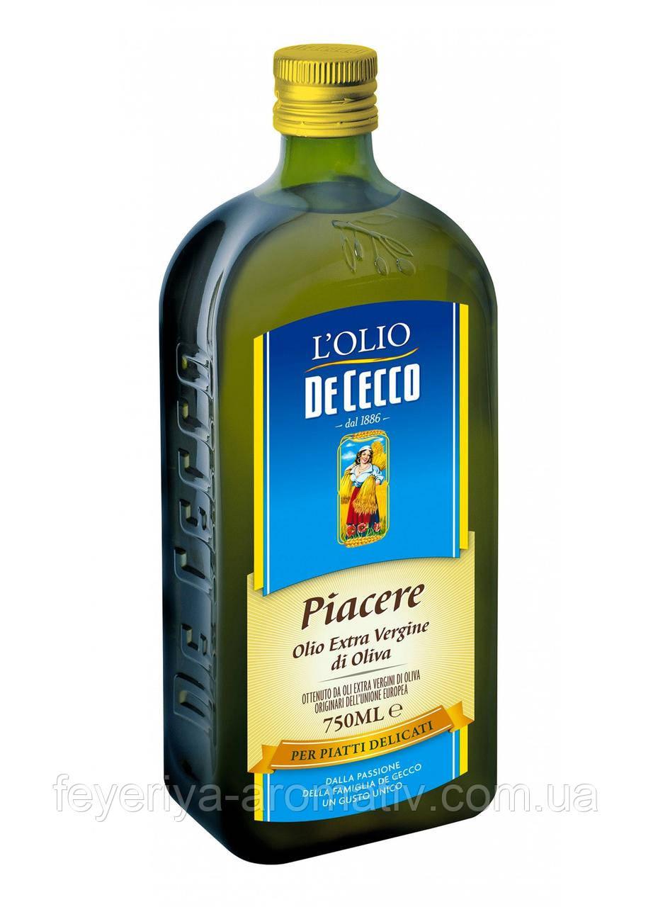 """Оливковое масло De Cecco Piacerre Extra Virgin 1л (Италия)  - Интернет-магазин """"Феерия Ароматов"""" в Луцке"""