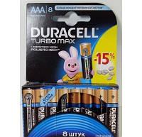 Батарейки Duracell Turbo AAA