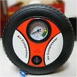 Авто Компрессор Air Pump 12V 260PSI (колесо), фото 5
