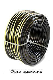 """Поливочный шланг Evsi Plastik Радуга (черная) 3/4"""" 18 мм (20 м)"""