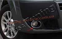 Окантовка на противотуманные фары Omsa на Fiat Doblo 2000-2010