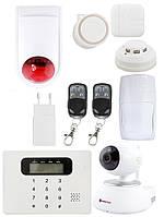 Комплект GSM сигнализации PoliceCam GSM 30С Video Alarm Eva