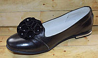 Кожаные туфли Lapsi для девочек размер 34