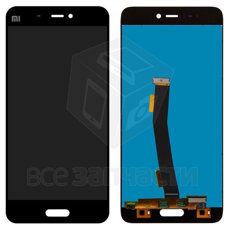 Xiaomi Mi5  Дисплейный модуль для мобильного телефона черный