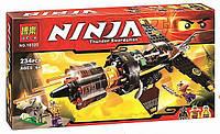 Конструктор Ninjago Скорострельный истребитель Коула 10322