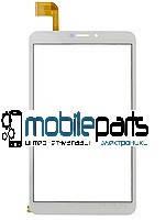 Оригинальный сенсор (Тачскрин) для планшета Bravis NB85 3G IPS (204*120мм) С рамкой (тип 2,51 pin) (Белый)
