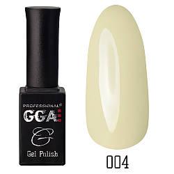 Гель-лак GGA Professional №4 Ivory 10 мл.
