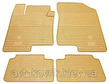 Гумові килимки в салон KIA Optima III (TF) 2012-2015 (STINGRAY)