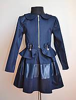 Школьная форма детская костюм для девочки 128 размер, фото 1