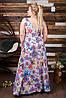 Женское платье  в пол шишки (50-60) 8167, фото 3