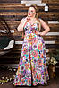 Женское платье  в пол шишки (50-60) 8167, фото 5