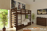 Кровать Троя двухъярусная 90 (Мебигранд/Mebigrand) 1055х2030(2130)х1740мм , фото 1