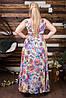 Женское платье  в пол шишки (50-60) 8167, фото 7