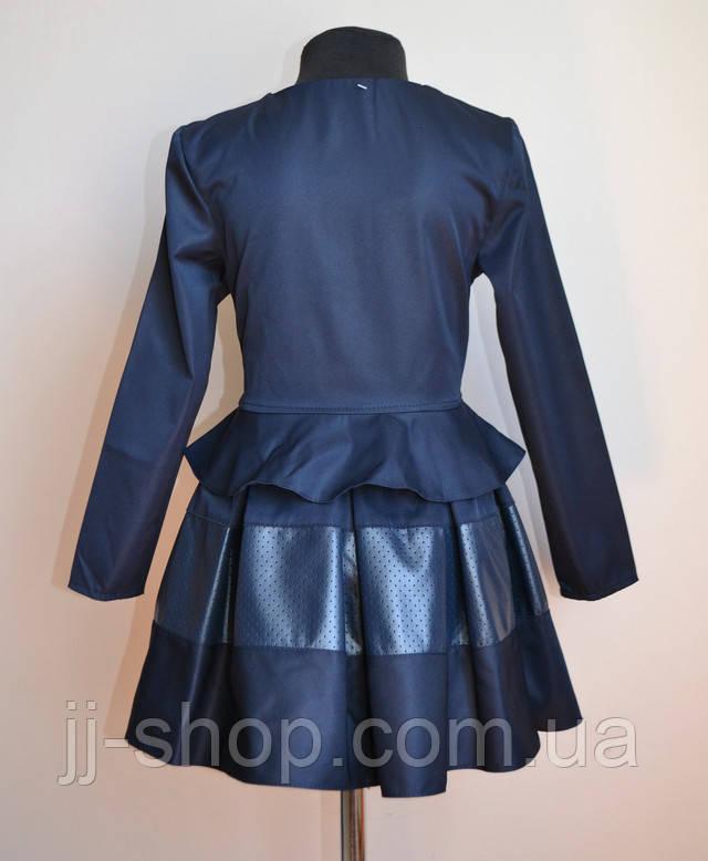 Костюм пиджак юбка детский