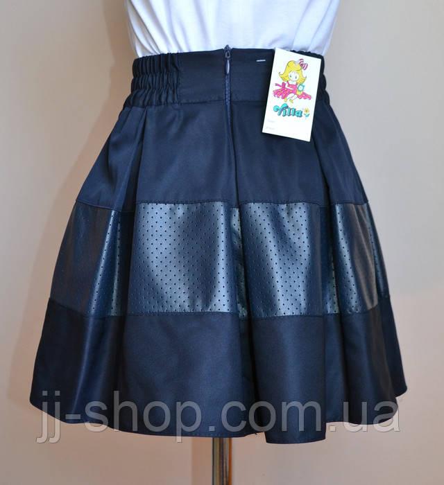 детская юбка школьная
