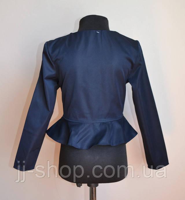 Пиджак для девочки детский школьный