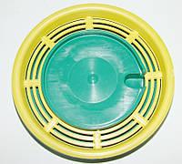Поилка для пчел круглая с сеточкой, диаметр 135 мм
