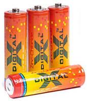 Батарейки X-digital - Zinc Chloride АА R6 1.5V 4/60/1200шт