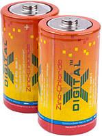 Батарейки X-digital - Zinc Chloride D R2O 1.5V 2/12/288шт