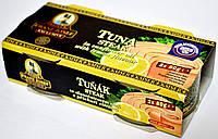 Тунец в масле и лимоне Franz Josef Tuna Steak ( 2 шт х 80 g ).