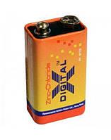 Батарейки X-digital - Zinc Chloride 6F22 Крона 9V 1/10/500шт
