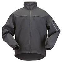 """Куртка тактическая для штормовой погоды """"5.11 Tactical Chameleon Softshell Jacket"""" (Black)"""