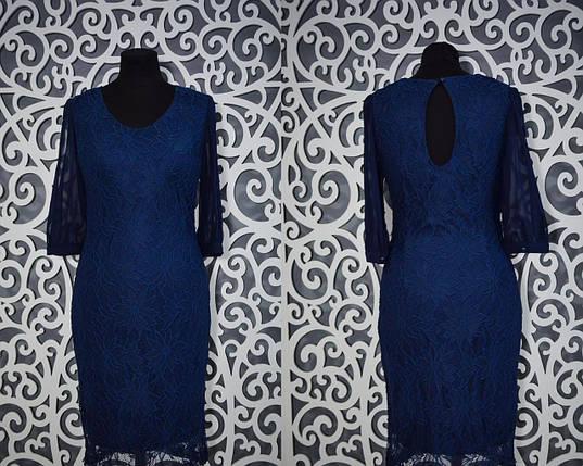 """Женское платье """"мягкое кружево"""" на подкладке Турция 44 размер норма, фото 2"""