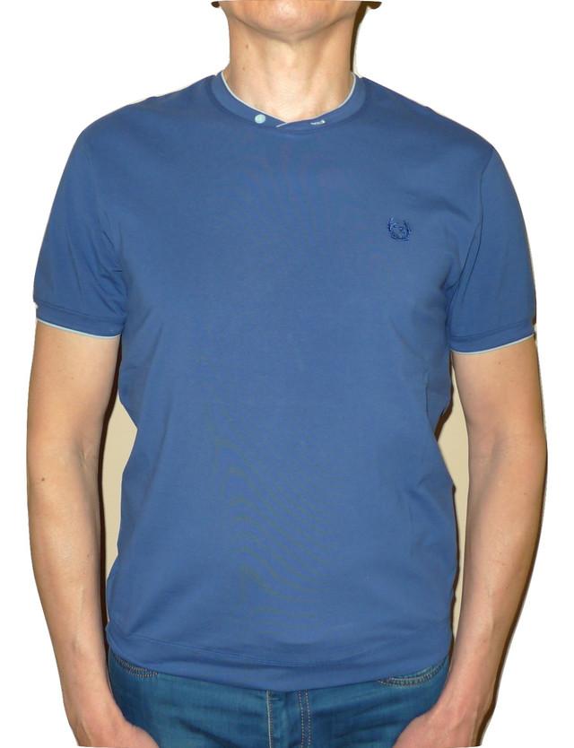 Мужская футболка с вырезом мыс
