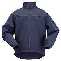 """Куртка тактическая для штормовой погоды """"5.11 Tactical Chameleon Softshell Jacket"""" (Dark Navy)"""