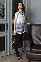 Комплект с брюками Mia-Mia Leona / Леона 16216 синий и белый