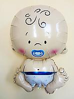 """Фольгированный шарик """"Ребенок""""  Мальчик 47×71 см"""