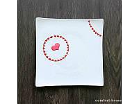 Тарелка расписная Heart  EZ-SK-0061-1