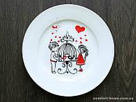 Тарелка расписная Любовь  EZ-SK-0001-1