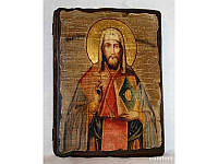 Икона под старину Леонтий