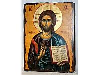 Икона под старину Спаситель 2