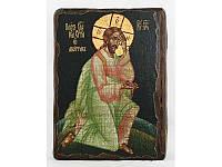 Икона под старину Плач об абортах