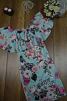 Женское летнее платье с рюшой Italy, фото 1