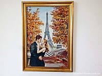 Гобелен в раме Пара в Париже 60*40 см