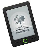 Электронная книга 6' Globex SmartBook Black 1024?758, подсветка, 4Gb, 1500 mAh, + чехол