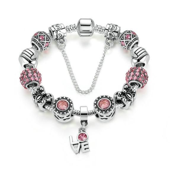 В продаже появились женские браслеты с стиле Пандоры ( Pandora )