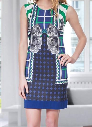 Купить в Украине Женская туника-платье без рукавов